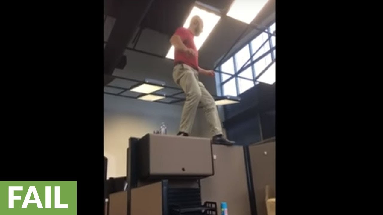 office cubicle roof. Office Cubicle Walk Goes Terribly Wrong Roof ,