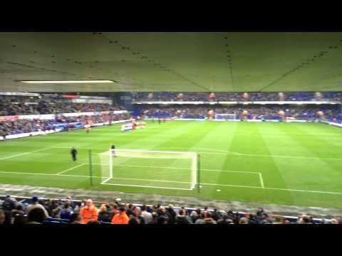 Ipswich Town FC versus Burnley FC - entrance players