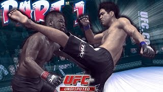 UFC Undisputed 2009 Career Let's Play Part 1 | Xbox 360 Gameplay
