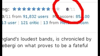 Unusual IMDb's rating for the film, It goes to 11