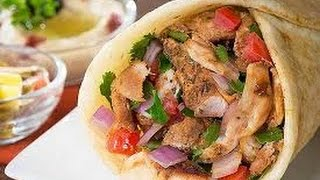 Homemade chicken shawarma  {full recipe} easy to make