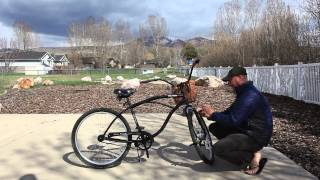 250 Series 5 Minute E-Bike Kit Installation by LEED