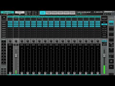 Waves Emotion LV1 Mixer Channel Tab