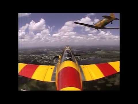 My flight experience in a T6 Texan