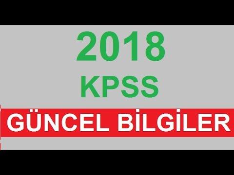 2019 KPSS Karışık Güncel Bilgiler -A