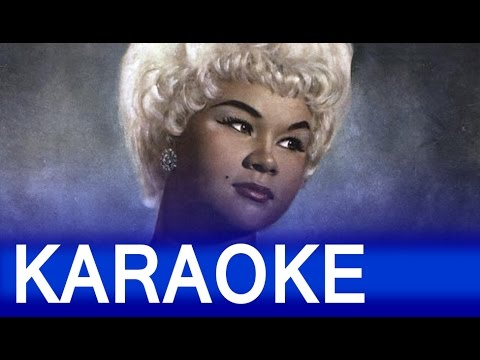 Etta James - At Last Lyrics Instrumental Karaoke