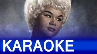 Etta James At Last Lyrics Instrumental Karaoke