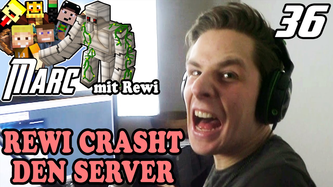 Lpmitkev  REWI CRASHED DEN SERVER !!! | Minecraft MARC #36 | LPmitKev - YouTube