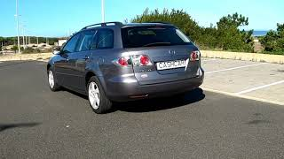 Vista lado esquerdo Mazda 6