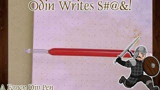 OWS: Fancy Vintage Glass Dip Pen