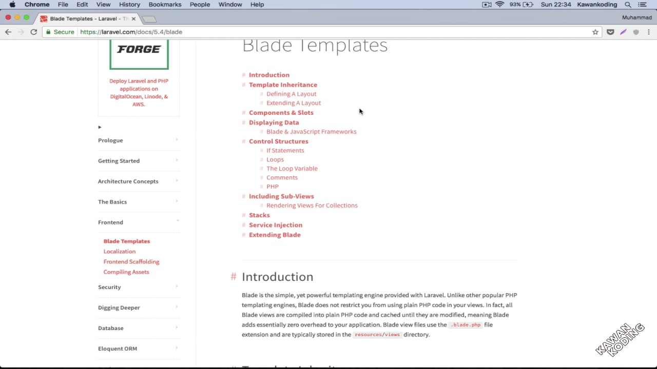 Tutorial Laravel Blade Templating - 01 Introduction
