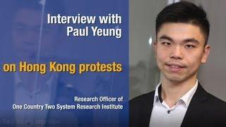 Paul Yeung on Hong Kong protests