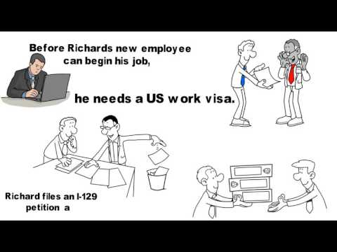 I-129 - Petition for a Non-immigrant Work Visa.