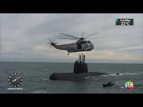 Exclusivo: Argentina sugeriu simulação de desaparecimento de submarino | SBT Brasil (04/12/17)