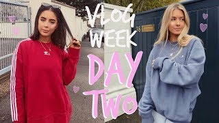 VLOG WEEK! | AÇAÍ BOWLS, BOOTY WORKOUT + DYING OUR HAIR! | Sophia and Cinzia