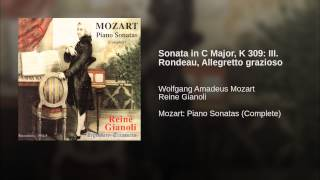 Sonata in C Major, K 309: III. Rondeau, Allegretto grazioso