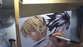 Speed Drawing - Kira e L