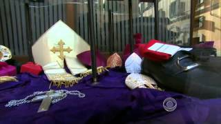 Dressing the new pope