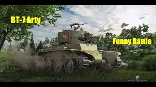 Funny Battle in the BT-7 Arty