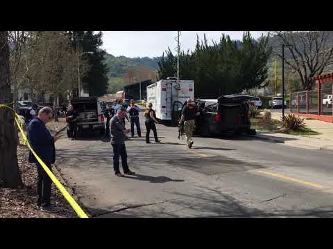 Armed man takes hostages at Napa Valley  veterans home
