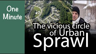 Episode 3 | The vicious circle of Urban Sprawl | One Minute Green Architecture