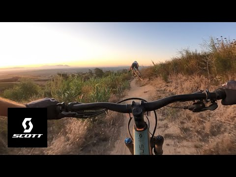 FOLLOWING WORLD CHAMP NINO SCHURTER - MAN, WHAT A TRAIL w/ Andrew Neethling and Nino Schurter