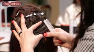 Наращивание волос 3 в 1: капсулы, ленты, клипсы. Nordic Hair Contrast .