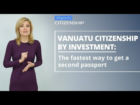 Vanuatu citizenship by investment 👉 How to obtain Vanuatu pa