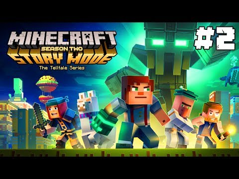 Minecraft Story Mode: Season 2   PLIVAJÍCÍ LAMA!   Část #2 - Epizoda 1   Pedro