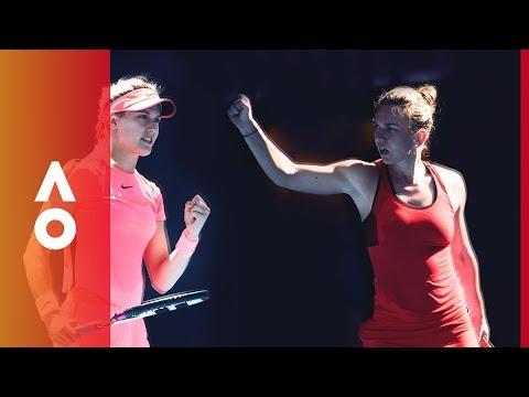 Halep vs Bouchard: Coin Toss Epsiode 4    Australian Open 2018