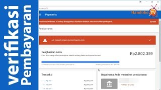 Verifikasi Pembayaran YouTube Melalui Transfer Bank Indonesia ( Pembayaran Google Adsense )
