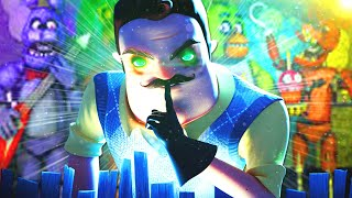 Der NACHBAR im FNAF LEVEL! (Hello Neighbor Multiplayer) | #scarysunday