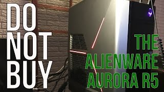 Video DO NOT BUY the Alienware Aurora R5 Gaming PC! Unboxing and Review download MP3, 3GP, MP4, WEBM, AVI, FLV Agustus 2018