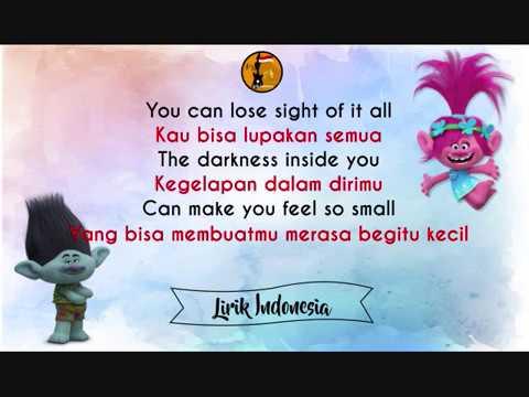 True Colours by Justin Timberlake and Anna Kendrick - dengan Lirik dan Terjemahan Bahasa Indonesa