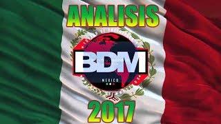 Análisis de la BDM Gold México 2017 ¿mejor que el año pasado ?