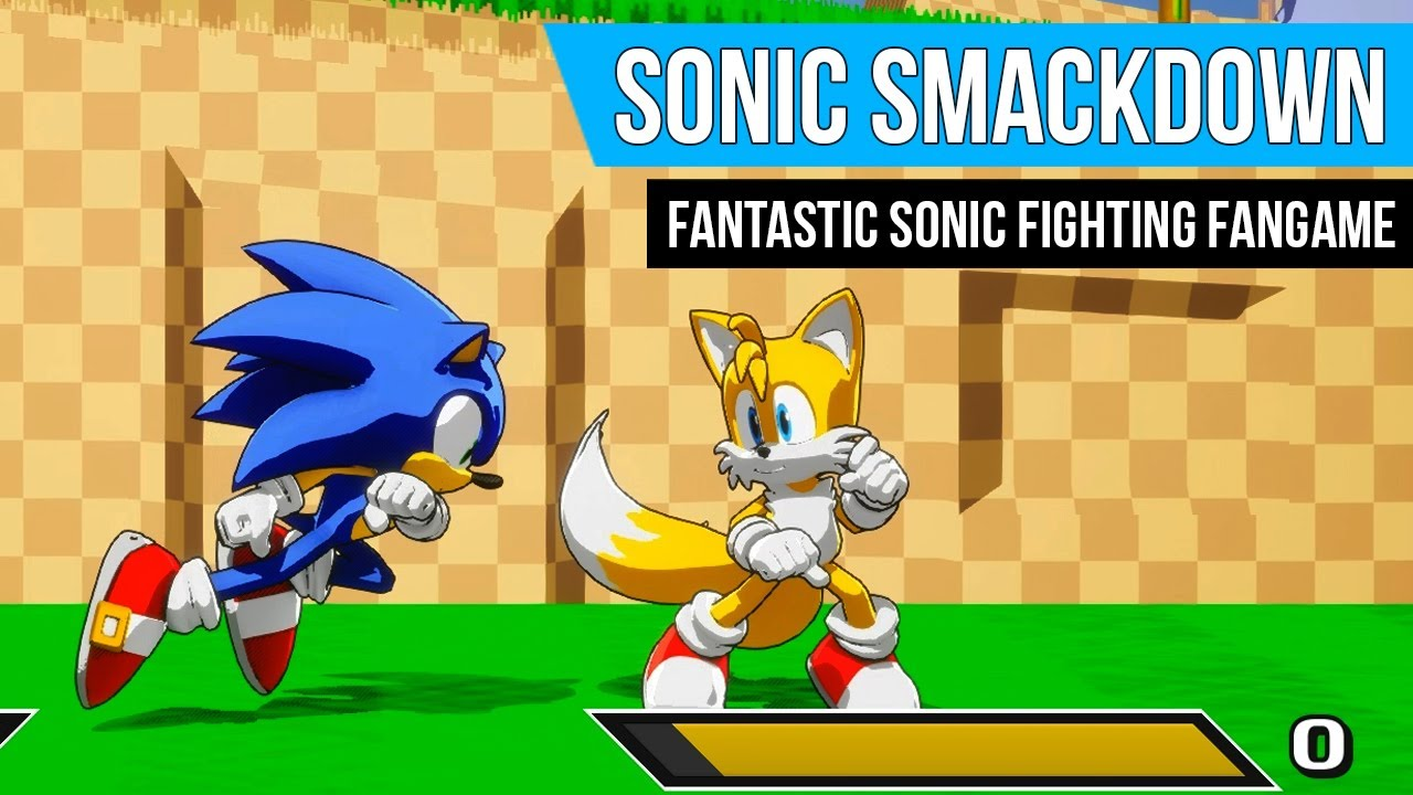 Sonic Smackdown Fantastic Free Sonic Fighting Fangame Gameplay Youtube