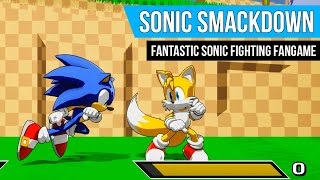 Sonic Smackdown: Fantastic & Free Sonic Fighting Fangame | Gameplay