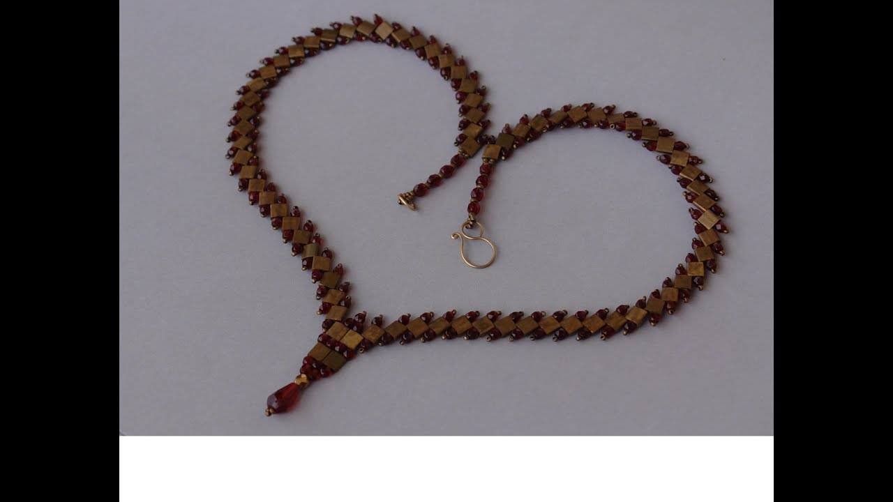 Sidonia S Handmade Jewelry Tila Beads Necklace Tutorial