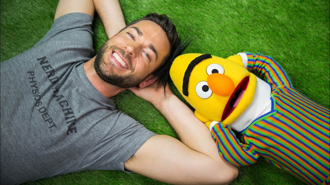 A Lovely Sunny Day | Zachary Levi and Bert From Sesame Street | Mashable
