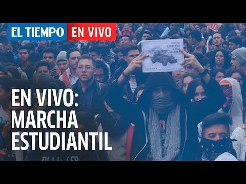 Los estudiantes marchan: siga en vivo el estado de la vías y TM