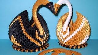Лебедь оригами из бумаги(Лебедь – благородная птица, которая олицетворяет верность, преданность и душевную чистоту. Во многих домах..., 2016-07-21T03:00:00.000Z)