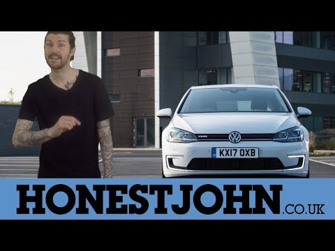 Car review in a few   2018 Volkswagen electric e-Golf