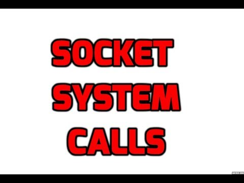 #3 socket system call in unix