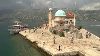 Остров  «Мадонна на Рифе», Черногория, Montenegro