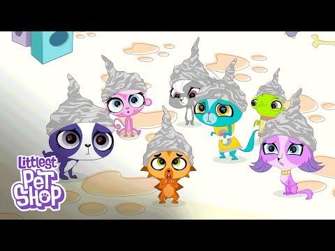 Littlest Pet Shop Season 3 - 'Paranoid Littlest Pets' Official Clip