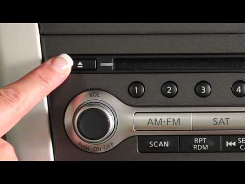 2012 NISSAN Murano - Audio Systems