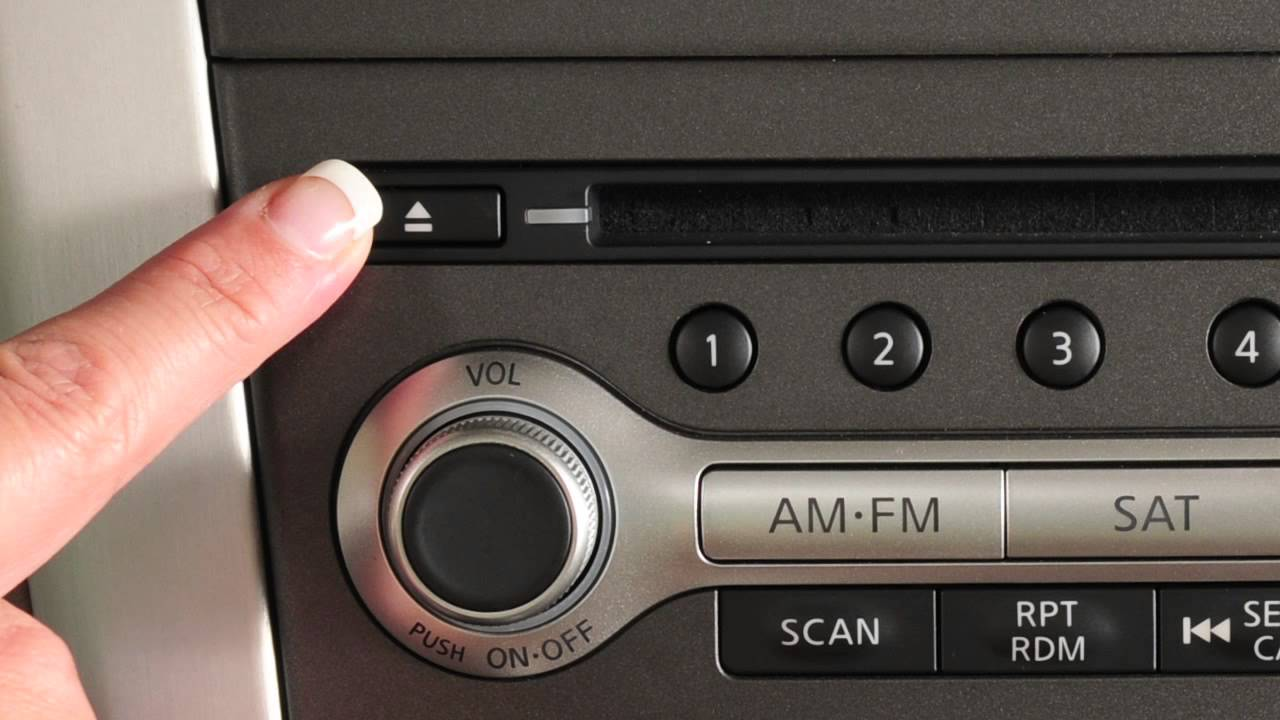 2012 Nissan Murano Audio Systems Youtube
