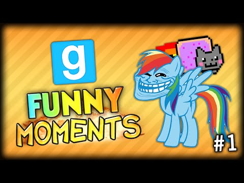 ORBITAL FRIENDSHIP FOR EVERYONE AND THE LIGHT SABER TROLL - GMOD Random Funny Moments #1