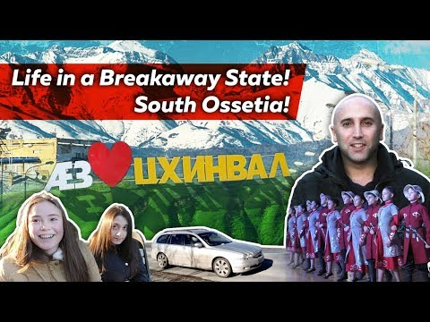 ❗ Life in a Breakaway State! South Ossetia ❗ (Georgian War)