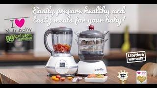 Video: Babymoov Nutribaby köögikombain